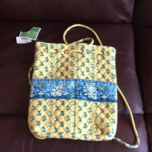 Small Vera Bradley drawstring backpack